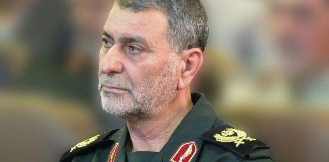 پیام تبریک فرمانده سپاه بیت المقدس کردستان به مناسبت هفته نیروی انتظامی
