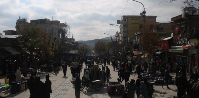 دستفروشان فردوسی سنندج در خیابانهای پیرامون موقتا ساماندهی میشوند