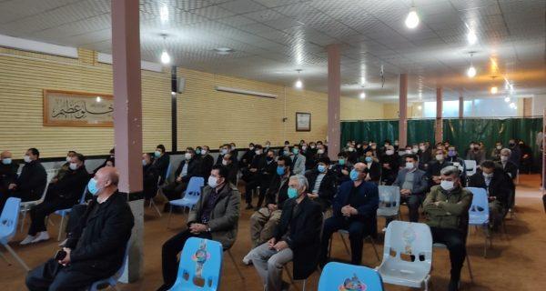 معتمدین و خیرخواهان انقلابی کردستان حماسه نهم دی ماه را گرامی داشتند