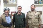 پیام تسلیت فرمانده سپاه بیت المقدس کردستان در پی درگذشت حاج علی بهرامی پیشمرگ مسلمان کرد