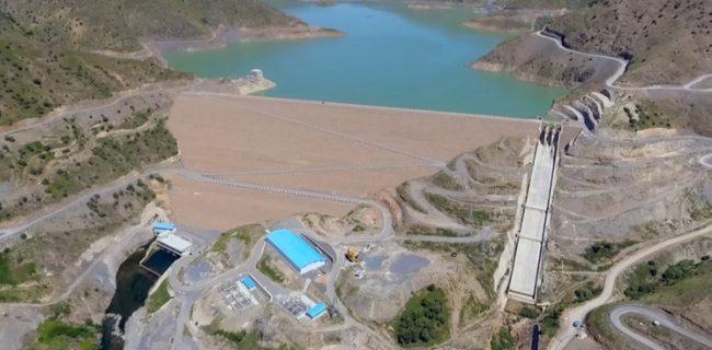 اجرای پروژه خط انتقال آب از سد آزاد به تصفیهخانه سنندج
