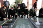 حضور دبیر مجمع تشخیص مصلحت نظام در یادمان شهدای گمنام سنندج