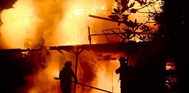 انجام ۸۲۰ عملیات اطفاء حریق در سنندج