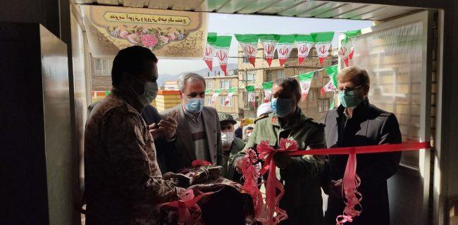 ساختمان آموزشی سردار شهید شکیبا سلیمی به همت سپاه در آساوله افتتاح شد