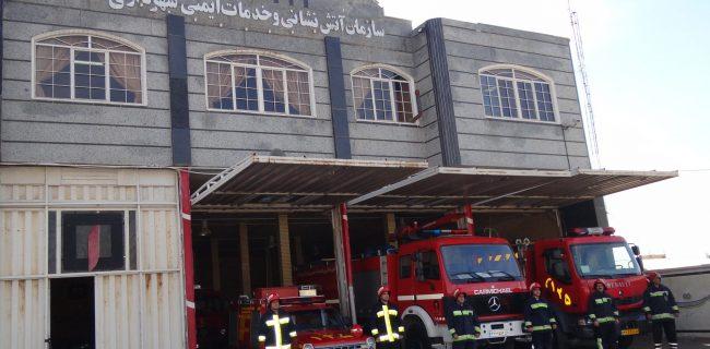 انجام یک هزار و ۴۰۴ عملیات اطفاء حریق و امداد و نجات توسط آتش نشانان سنندجی