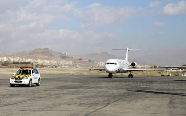 تردد ۱۴ هزار  هزار مسافر از فرودگاه سنندج