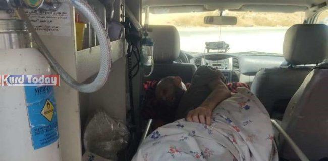 کمک رسانی سپاه سقز به بیمار سرطانی در امتناع اورژانس و هلال احمر!