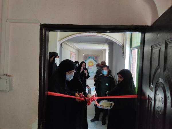 افتتاح کارگاه خیاطی طرح فدک در سنندج