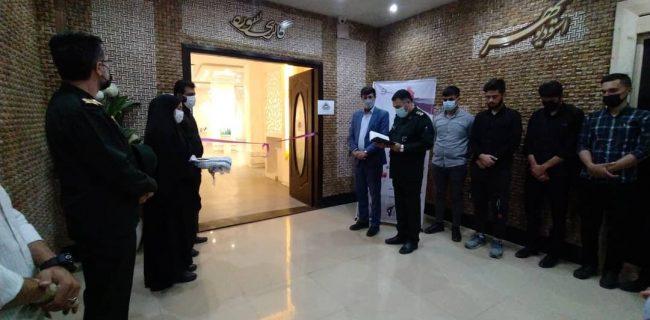 افتتاح نمایشگاه سراسری کارتون و کاریکاتور حجاب و عفاف در سنندج