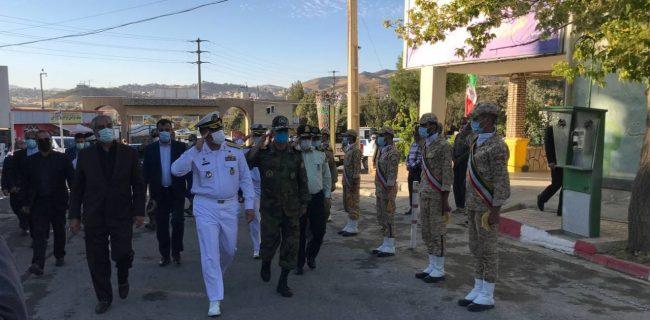 فرمانده نیروی دریایی ارتش وارد سنندج شد