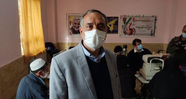 ویزیت رایگان ۳ هزار بیمار نیازمند کردستانی توسط گروه های جهادی چشم پزشکی