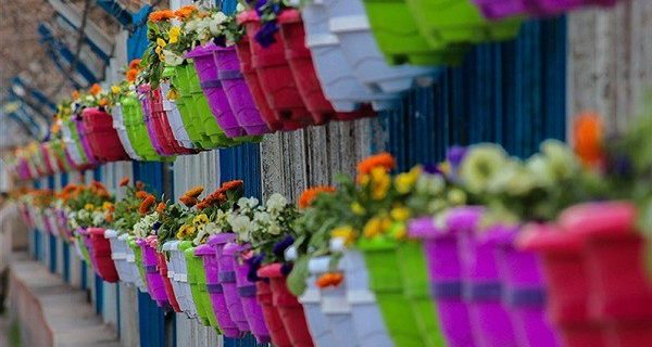 آغاز اجرای طرح استقبال از بهار در سنندج + عکس