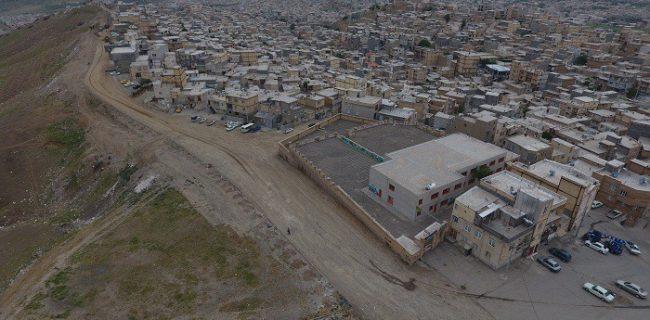 آغاز عملیات بهسازی و آسفالت خیابان بشارت در محله کانی کوزله سنندج