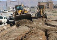 اجرای عملیات اصلاح هندسی دو بلوار در نایسر سنندج