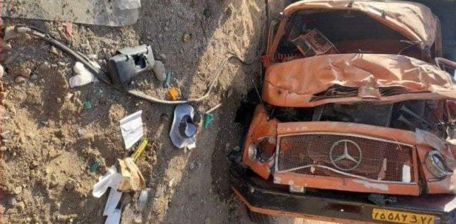 ۴ کشته و ۴ زخمی در دو تصادف محور سنندج _سقز