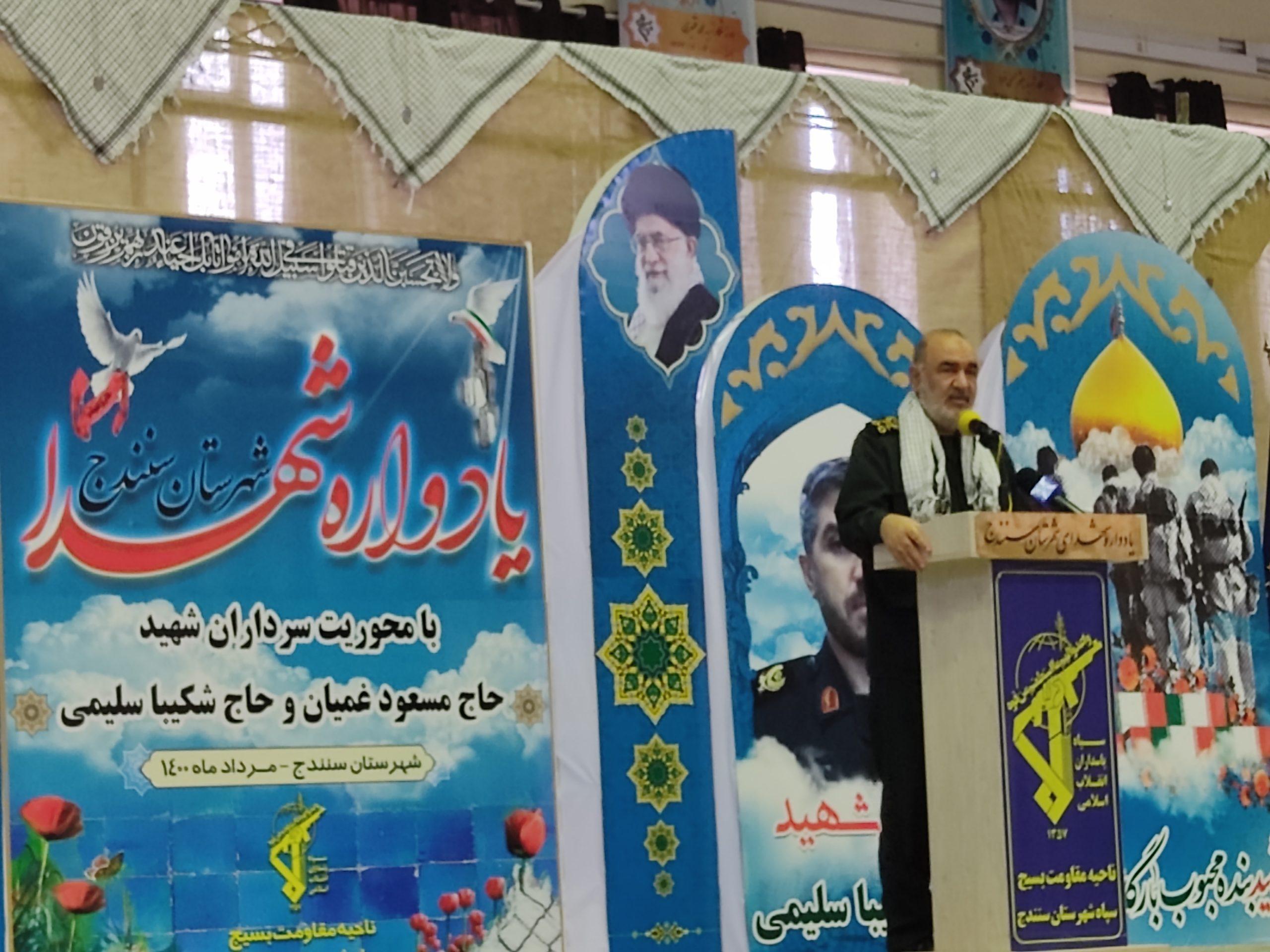 کردستان، قبرستان سیاست های دشمنان ما است /  مردم خوزستان به سرعت ستون خود را از عناصر متصل به دشمن جدا کردند